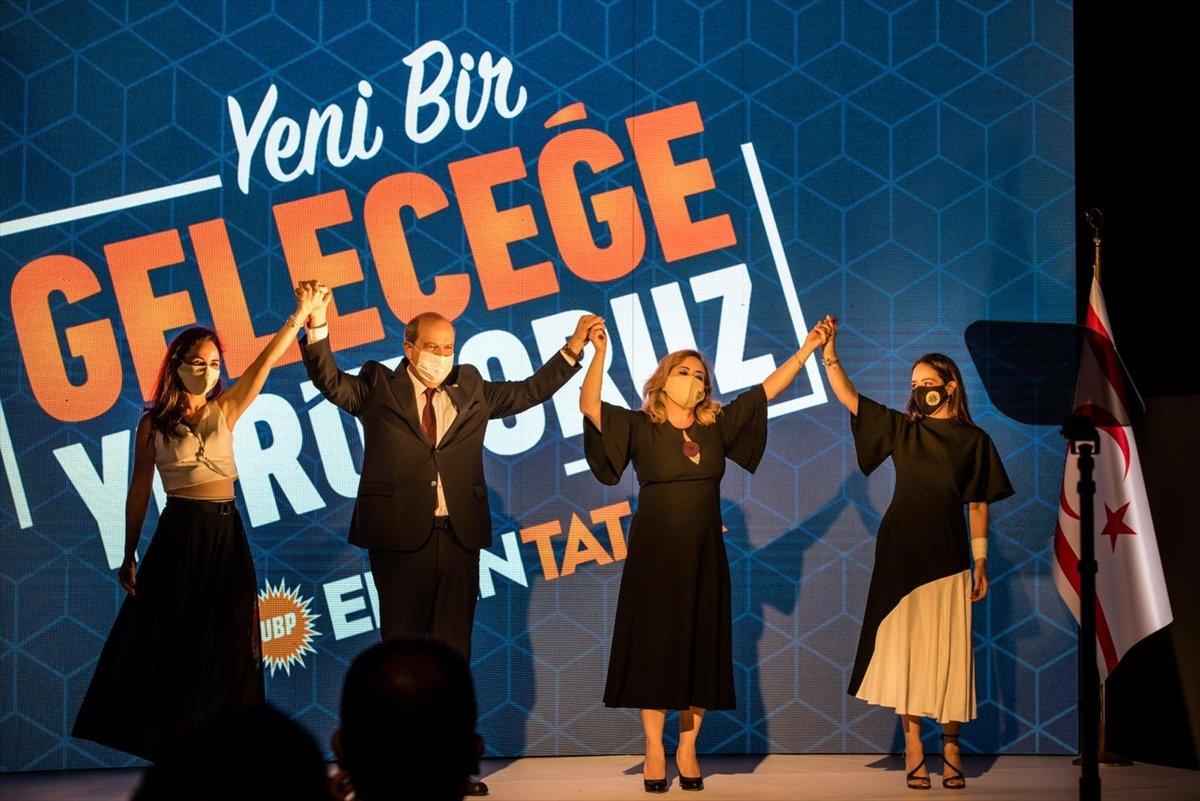 KKTC de cumhurbaşkanı adayı Ersin Tatar, vizyonunu açıkladı #1