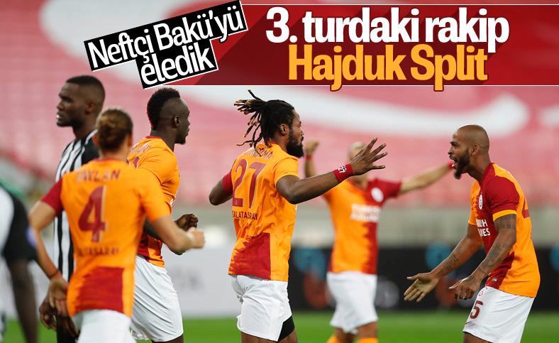 Galatasaray, Neftçi Bakü'yü 3 golle mağlup etti
