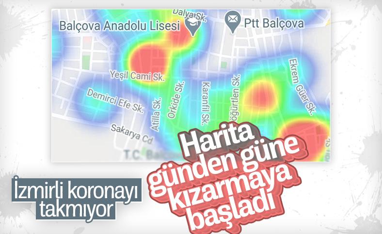 İzmir'de korona vakalarında kritik artış