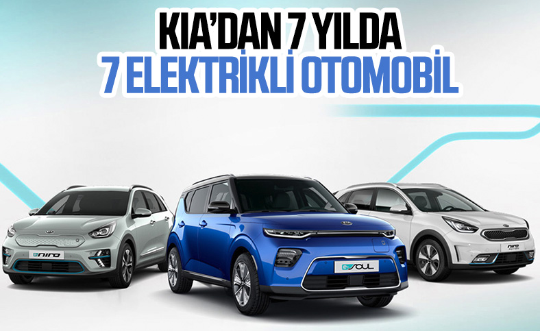 Kia, 2027 yılına kadar 7 elektrikli otomobil modeli tanıtacak