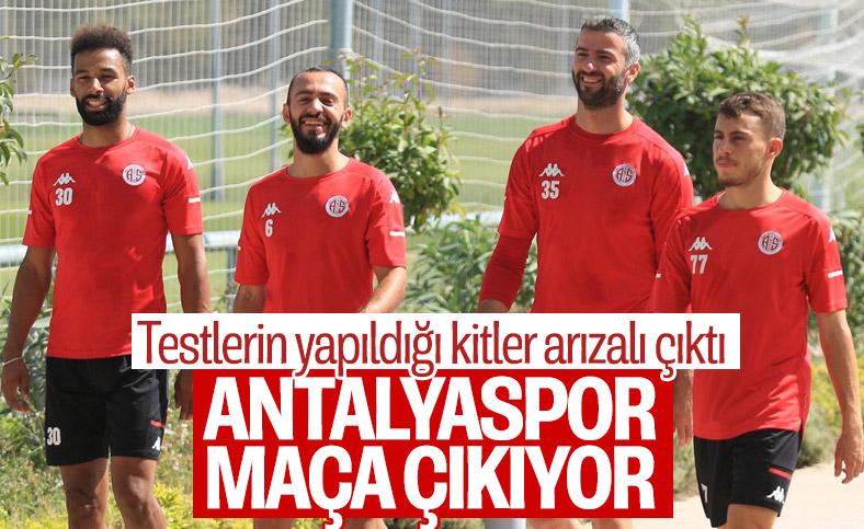 Antalyaspor, Beşiktaş maçına geliyor