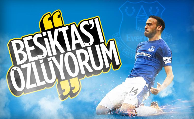 Cenk Tosun: Beşiktaş'ı özlüyorum