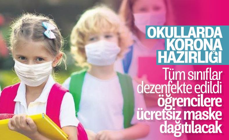 Bakan Ziya Selçuk, koronavirüse karşı okullarda alınan önlemleri açıkladı