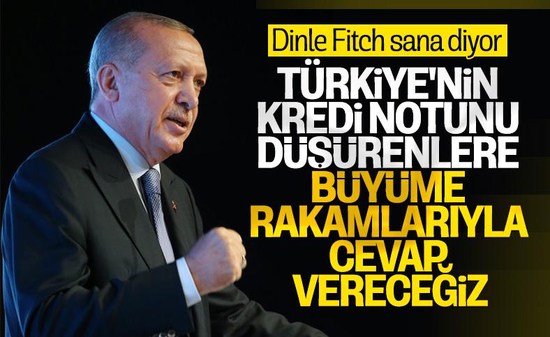 Cumhurbaşkanı Erdoğan: Türkiye salgından en az etkilenen ülkeler arasında