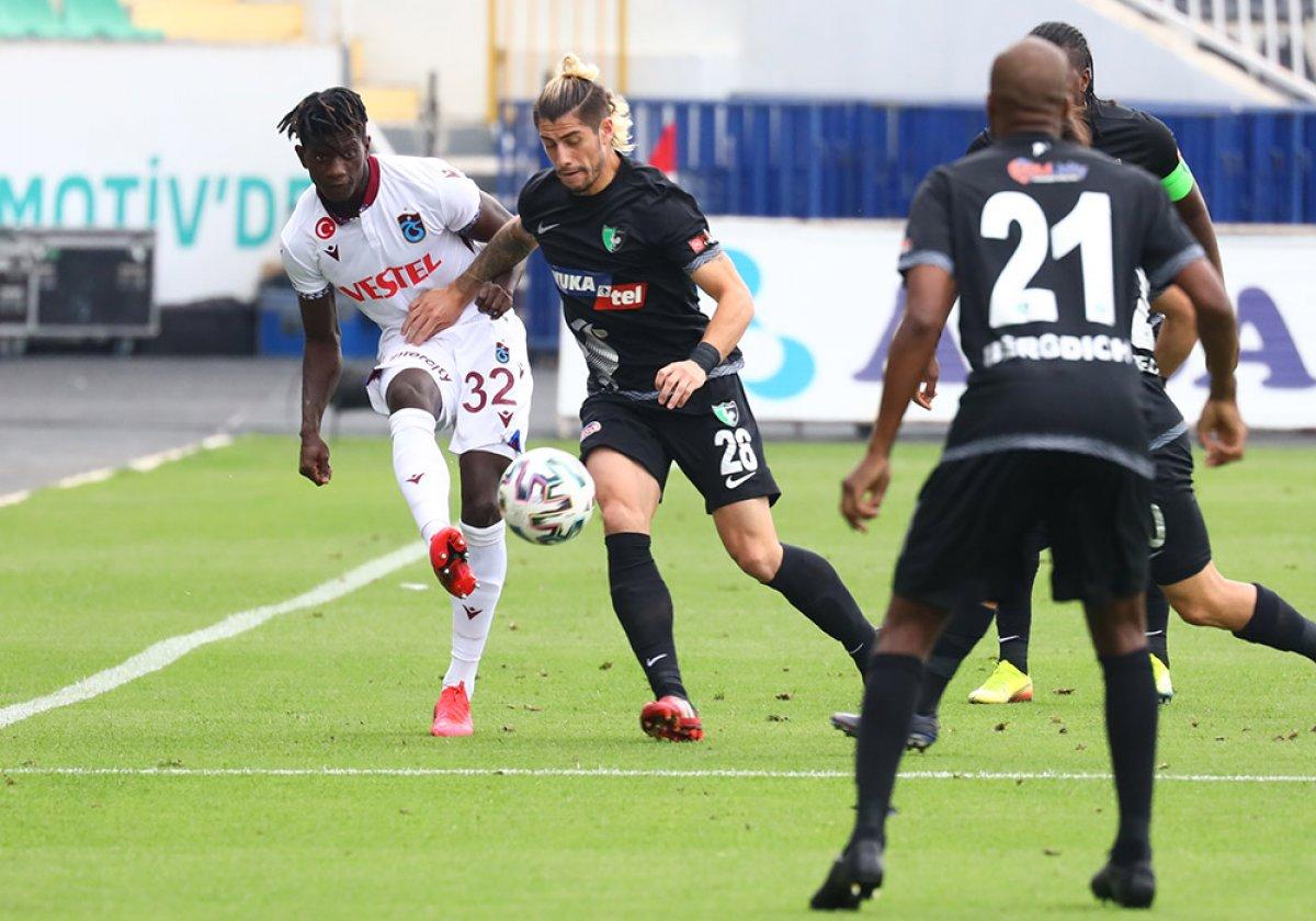 Trabzonspor dan Denizlispor deplasmanında golsüz beraberlik #2