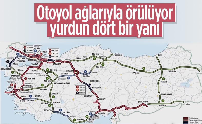 Kuzey Marmara Otoyolu'nun 5'inci kısmı açıldı