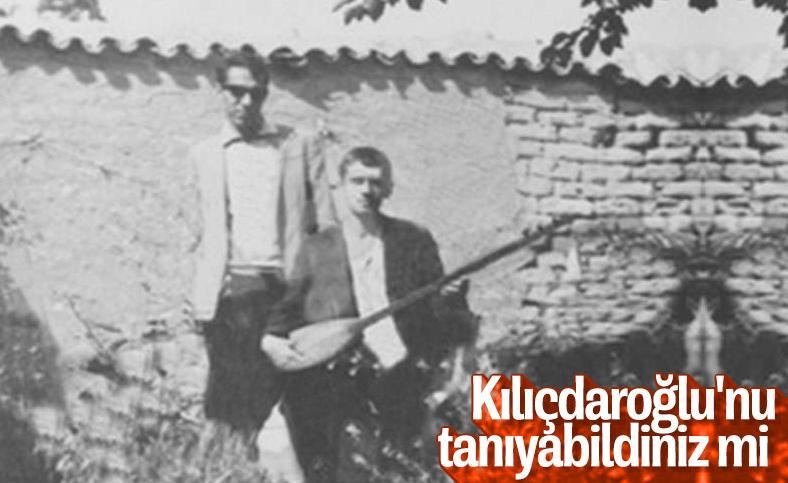 Kemal Kılıçdaroğlu'nun gençlik fotoğrafı ortaya çıktı