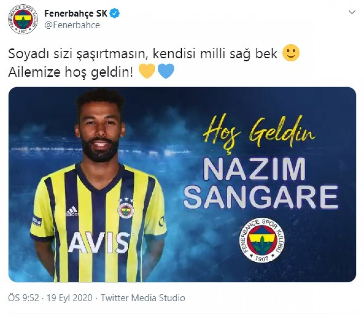 Nazım Sangare Fenerbahçe de #1