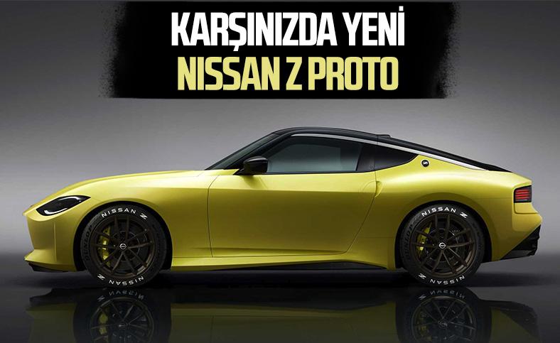 Yeni Nissan Z Proto tanıtıldı: İşte tüm özellikler