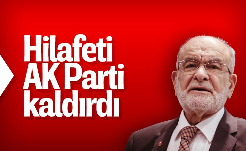 Temel Karamollaoğlu: Hilafeti AK Parti kaldırdı
