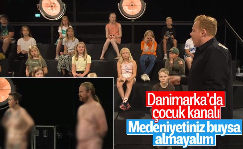 Danimarka'da skandal çocuk programı
