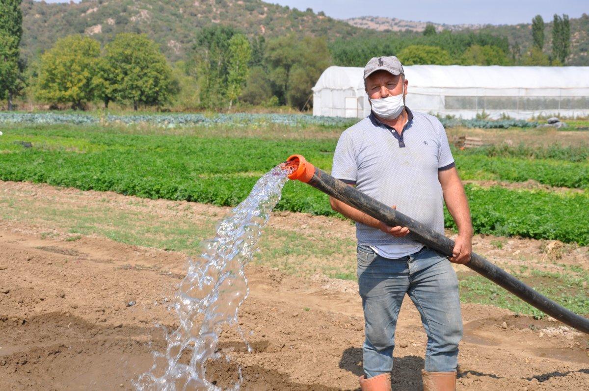 Kütahya da köylüler, tarım arazilerinin sanayileştirilmesini istemiyor #3