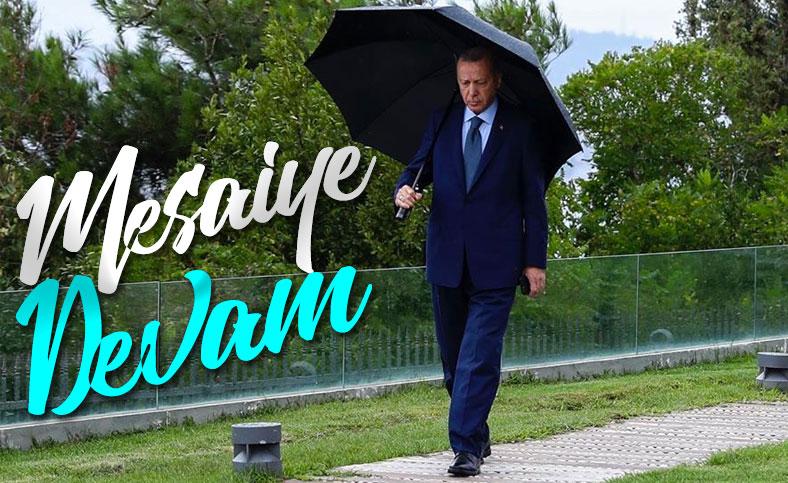 Cumhurbaşkanı Erdoğan fotoğraf paylaştı
