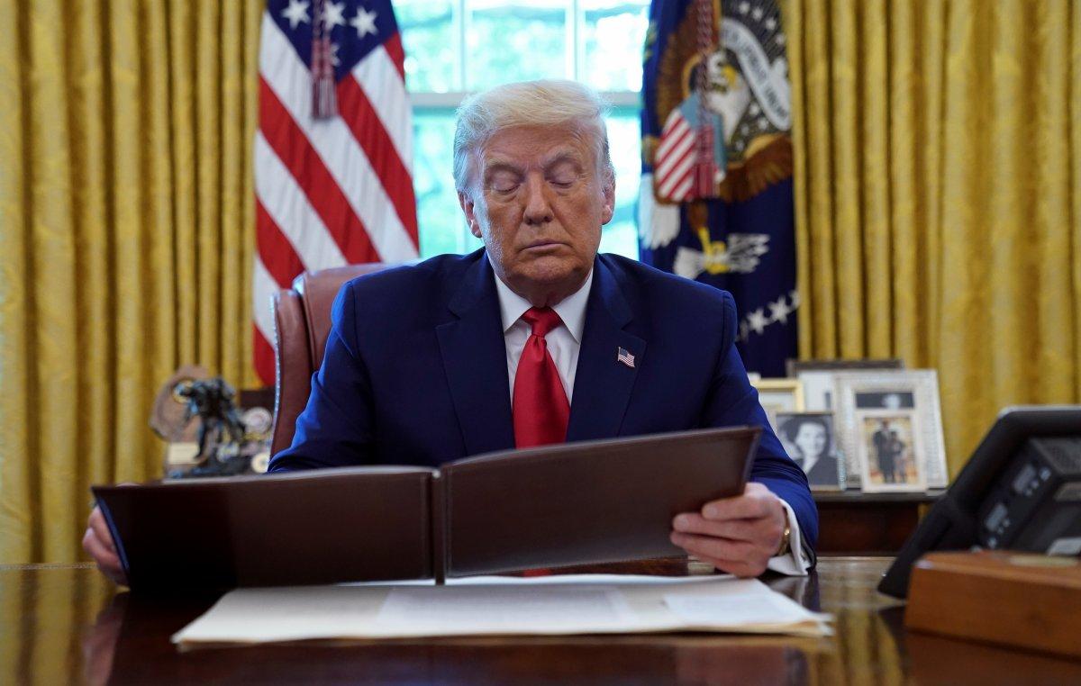 Trump a zehirli mektup gönderildi #2