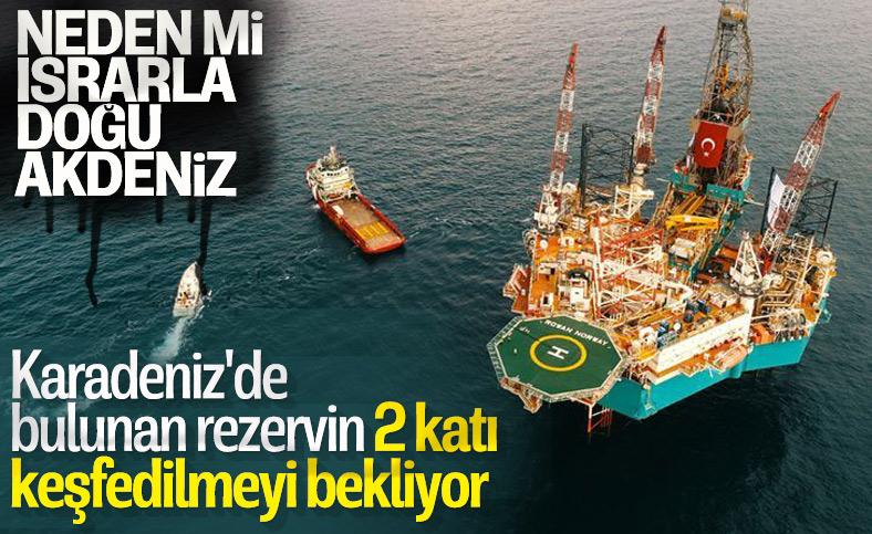 Doğu Akdeniz'deki gaz Karadeniz'de bulunan rezervin iki katı