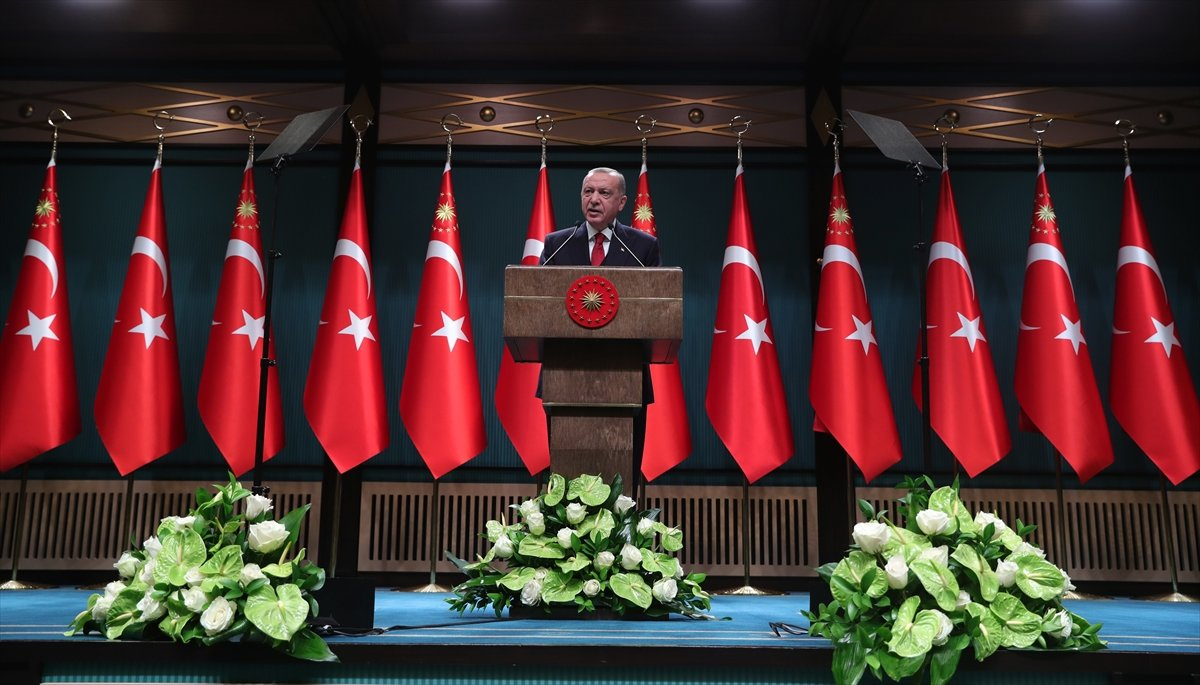 Cumhurbaşkanı Erdoğan: Koronavirüs yeniden artışa geçti #1