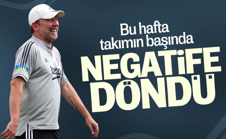 Beşiktaş: Sergen Yalçın'ın koronavirüs testi negatif