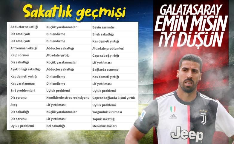 İtalyan basını: Galatasaray, Sami Khedira ile ilgileniyor