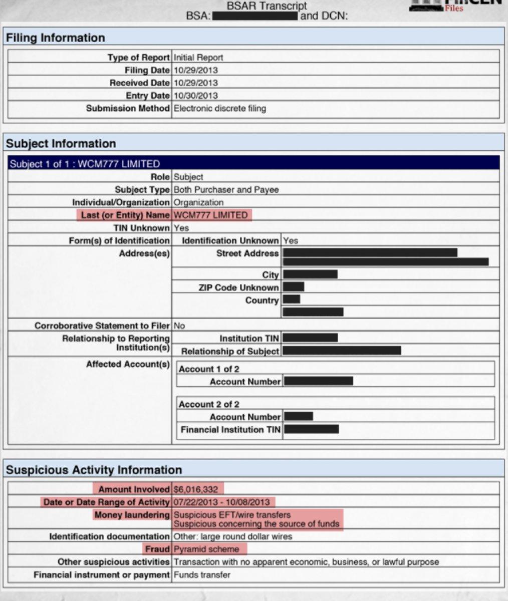 FinCEN belgeleri, 2 trilyon dolarlık şüpheli fonları mercek altına aldı #2