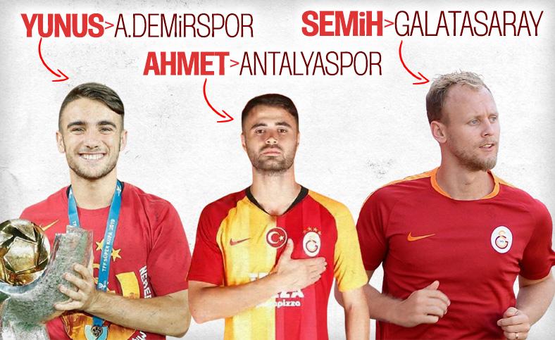 Yunus Akgün Adana Demirspor'a kiralanıyor