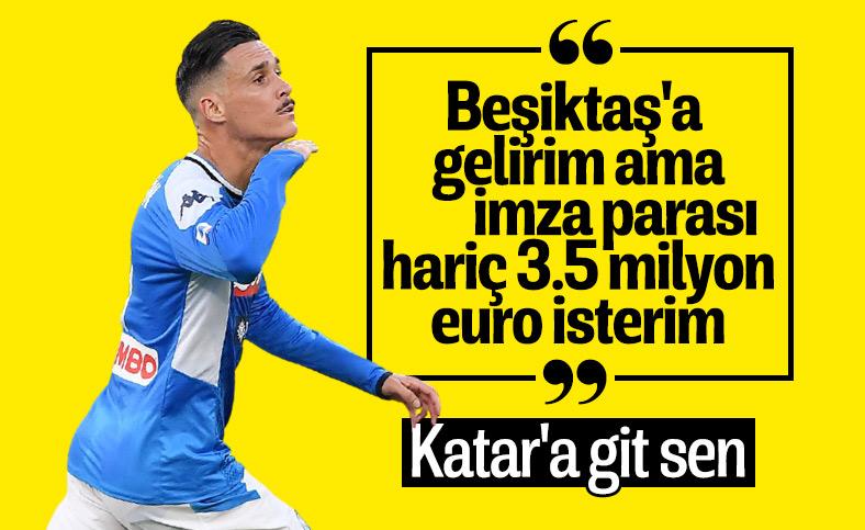 Jose Callejon'un istekleri Beşiktaş yönetimini zora soktu