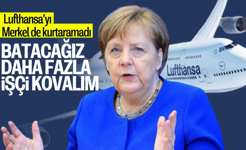 Alman hava yolu Lufthansa, küçülmeye gidiyor