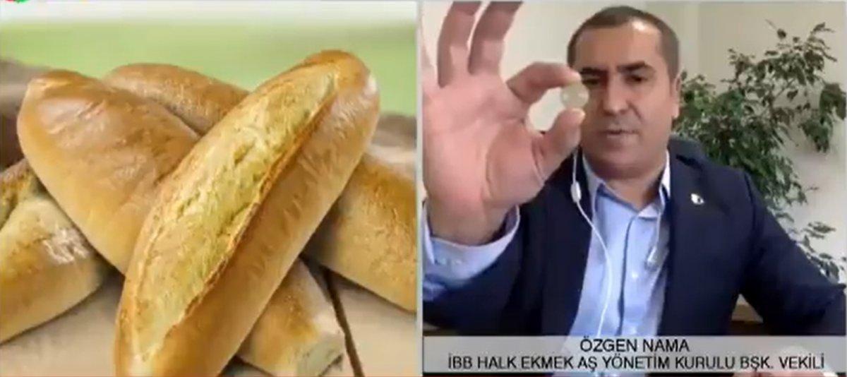 İBB Halk Ekmek Yönetim Kurulu Başkan Vekili, ekmek zammını böyle savundu  #1