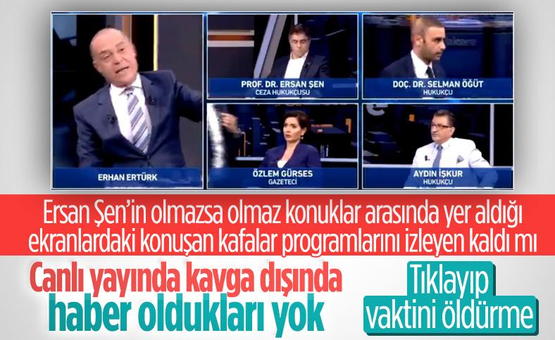 Selman Öğüt, Erhan Ertürk'ün programını terk etti