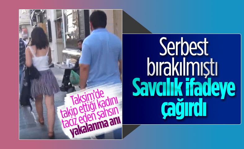 Taksim'de genç kadını takip eden şahıs hakkında savcılıktan yeni karar