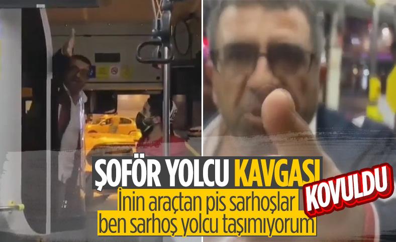 İstanbul'da otobüs şoförü, bisikletli kadın yolcuya saldırdı