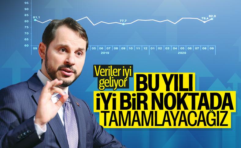 Berat Albayrak: Ekonomimiz üçüncü çeyrekte yükseliş mesajı verdi