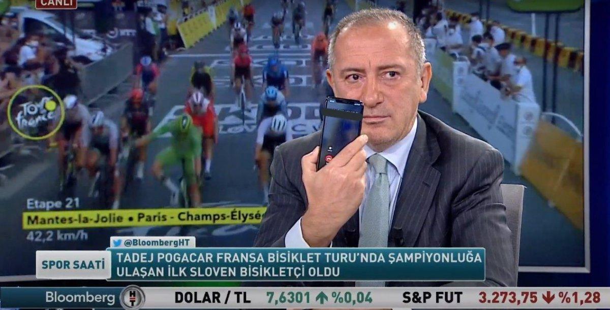 Ercan Taner, Fatih Altaylı nın telefonunu Twitter da paylaştı #1
