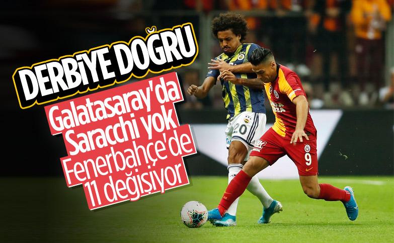 Galatasaray-Fenerbahçe derbisine doğru