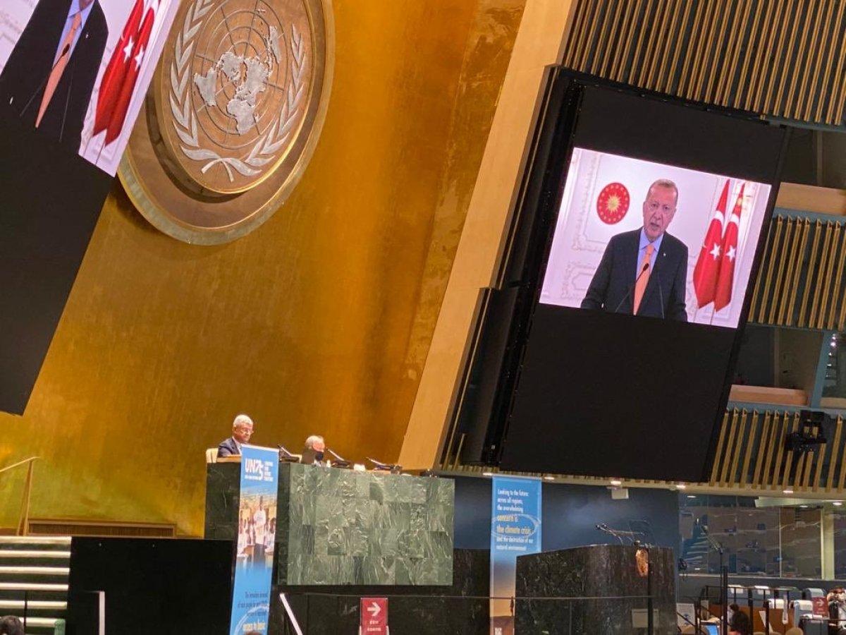 Cumhurbaşkanı Erdoğan ın Birleşmiş Milletler Genel Kurul konuşması #2