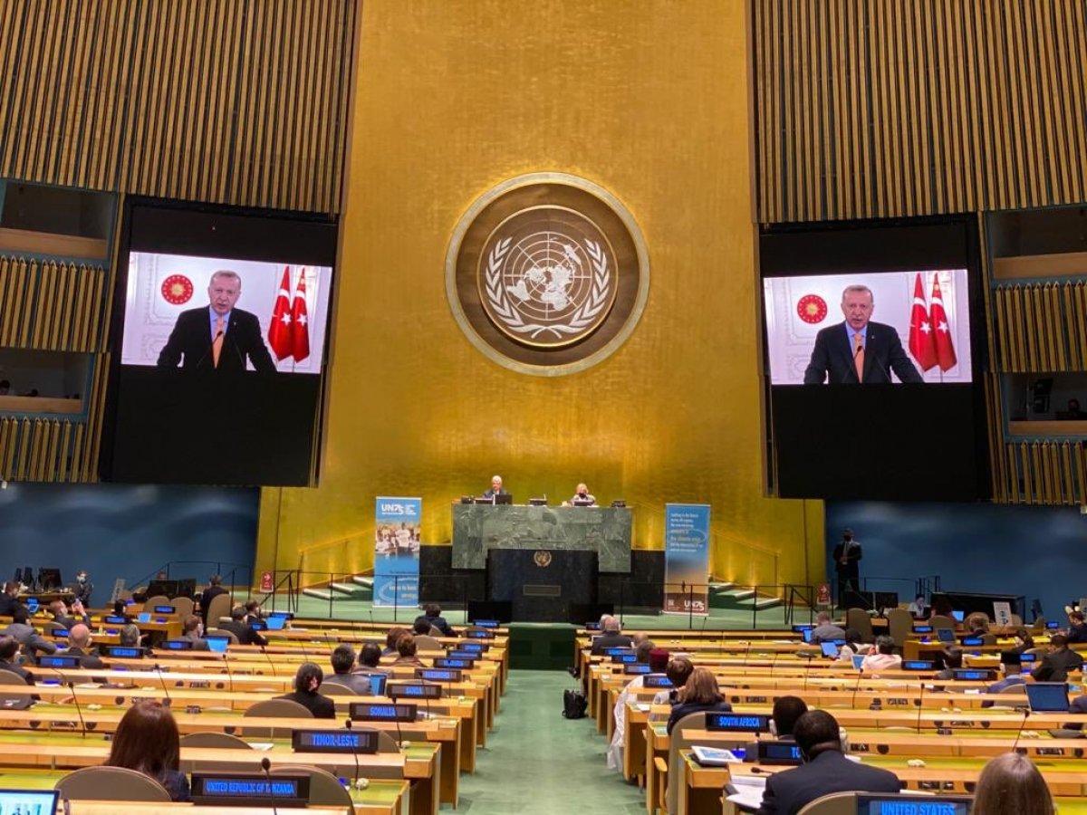 Cumhurbaşkanı Erdoğan ın Birleşmiş Milletler Genel Kurul konuşması #1