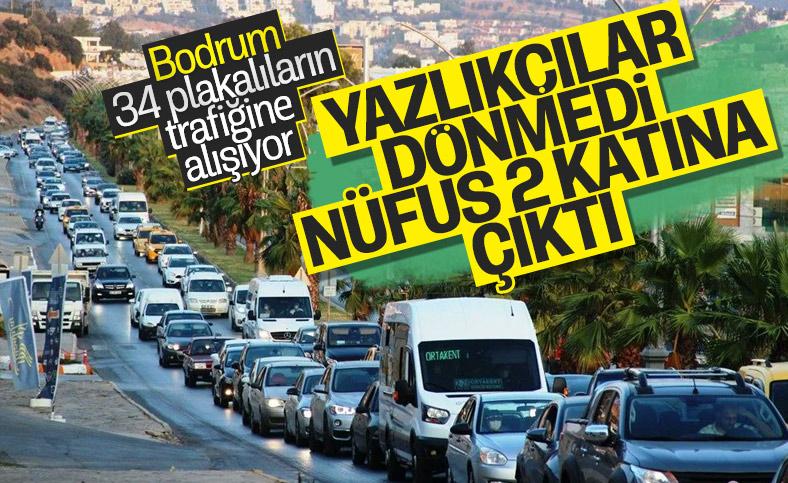 Bodrum'a giden dönmedi, nüfus 400 bine çıktı
