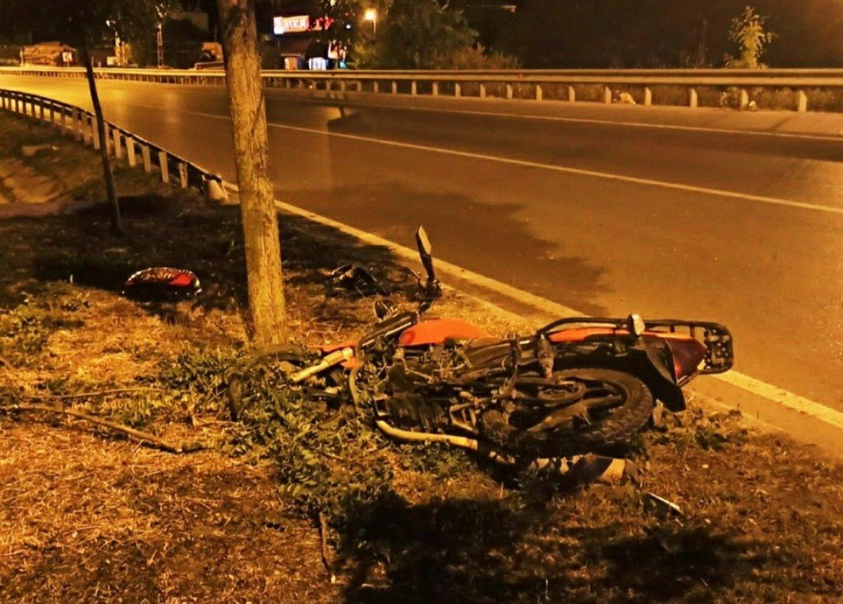 Samsun da motosiklet kazası: 1 ölü #2