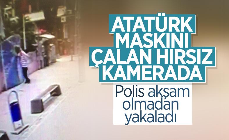 İzmit'te Atatürk maskını çalan kişi yakalandı