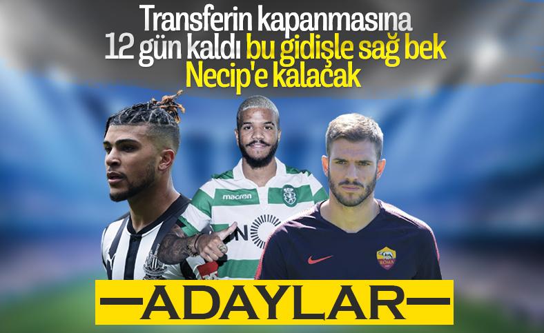 Beşiktaş'ın sağ bek adayları