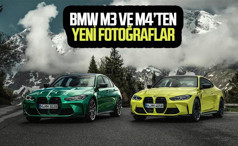 BMW M3 ve M4'ün yeni fotoğrafları ortaya çıktı