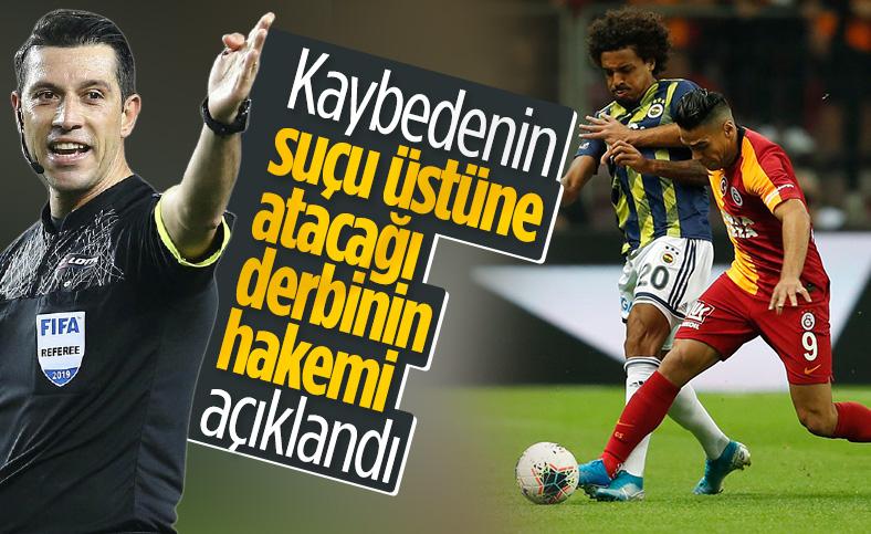 Galatasaray-Fenerbahçe maçını Ali Palabıyık yönetecek