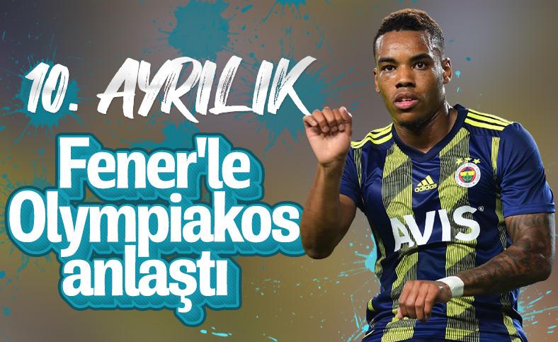 Garry Rodrigues Fenerbahçe ile yollarını ayırıyor