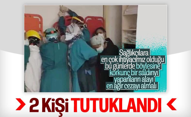 Ankara'da sağlık çalışanlarına saldıran şahıslardan 2'si tutuklandı