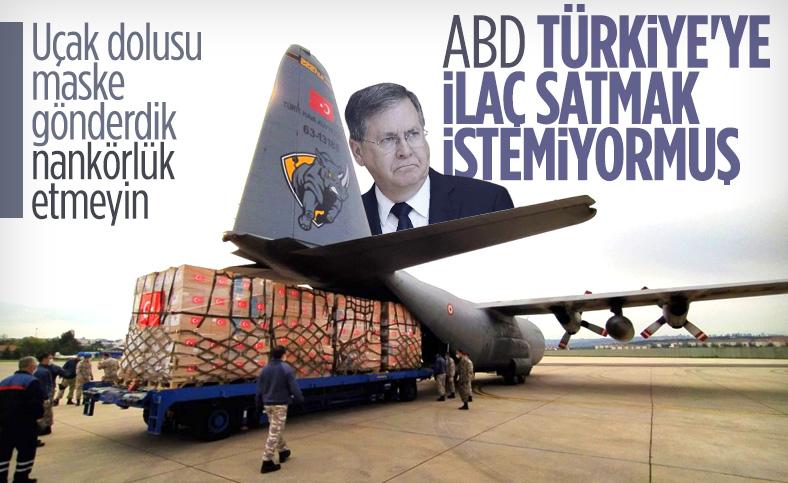 ABD'nin Türkiye Büyükelçisi David Satterfield: Türkiye'ye ilaç satışı durdurulabilir