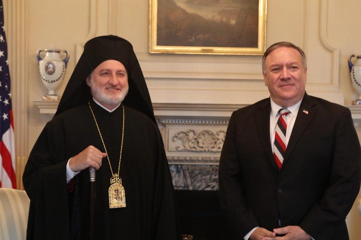 Amerika Başpiskoposu Elpidophoros: Türkiye nin saldırgan tavrından endişeliyiz #2