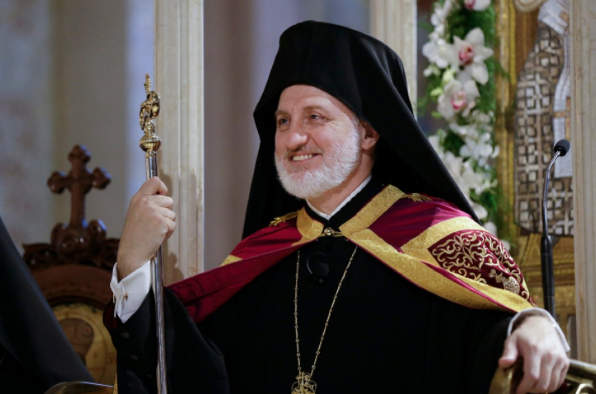 Amerika Başpiskoposu Elpidophoros: Türkiye nin saldırgan tavrından endişeliyiz #1