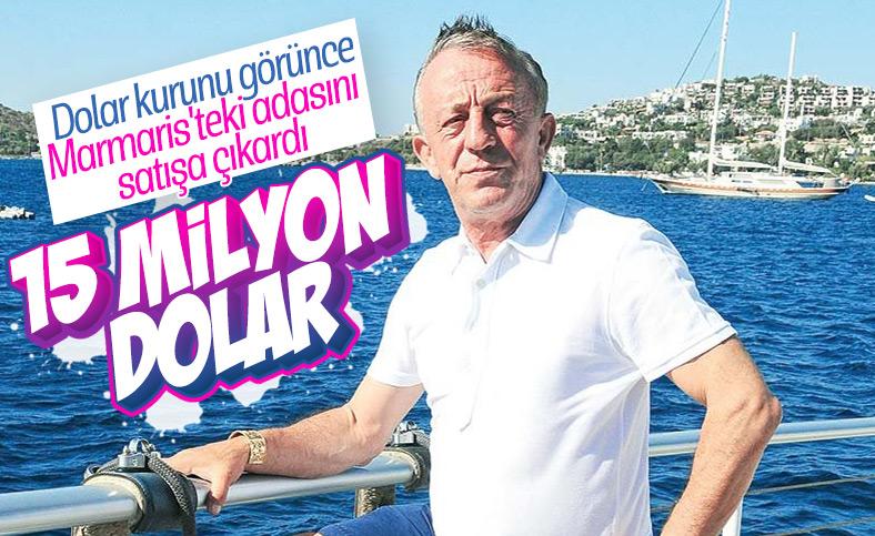 Ali Ağaoğlu, adasını satışa çıkardı