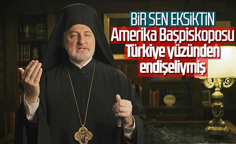 Amerika Başpiskoposu Elpidophoros: Türkiye'nin saldırgan tavrından endişeliyiz