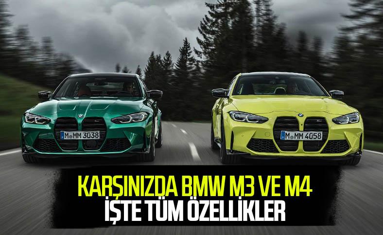 Merakla beklenen yeni nesil BMW M3 ve M4 tanıtıldı