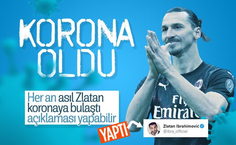 Zlatan Ibrahimovic koronavirüse yakalandı